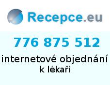 Recepce.eu - internetové objednávání k lékaři